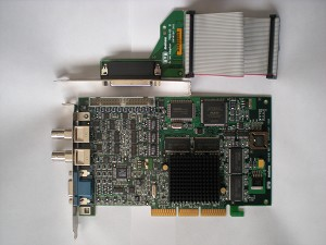 PC CARD, PCI VIDEO/FRAME 32MB